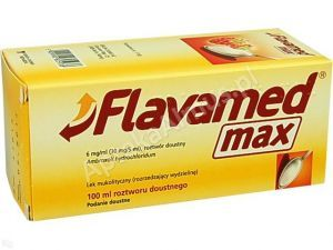 Flavamed Max rozt.doust. 6mg/1ml 100ml