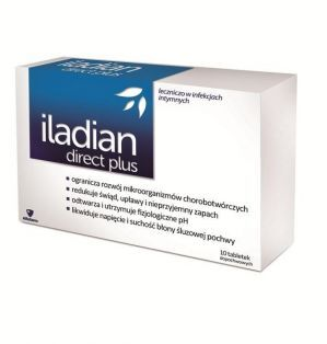 Iladian direct plus kaps.dopochw. 10kaps.