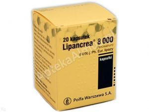 Lipancrea  8000j.Ph.Eur. 20kaps.