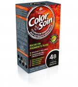 COLOR & SOIN Farba do włosów 4B 135 ml kas br
