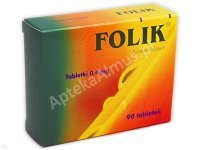 Folik  0,4 mg 90 tabl.
