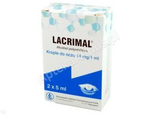 Lacrimal krop.do oczu 2 x 5ml