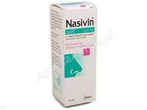 Nasivin soft 0.01% krop.do nosa 0,1 mg/1ml