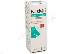 Nasivin soft 0.05% aer.donosa 0,5mg/ml 10m