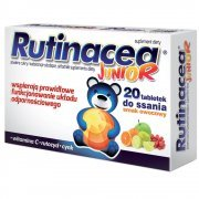 Rutinacea Junior tabletki do ssania 20 tabl